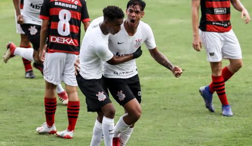 Corinthians goleia Oeste e vai às quartas do Paulistão Sub-20
