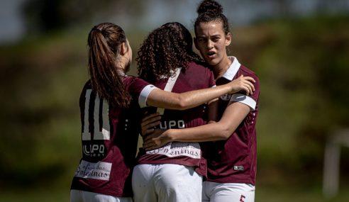 Ferroviária goleia Esmac-PA e fica a uma vitória das semifinais do Brasileirão Feminino Sub-16