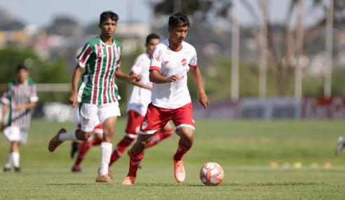 Antes da final, Vila Nova perde invencibilidade para o Flugoiânia no Torneio FGF Sub-17