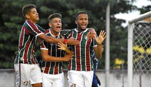 Fluminense vence Athletico-PR e sai na frente na final do Brasileirão Sub-17