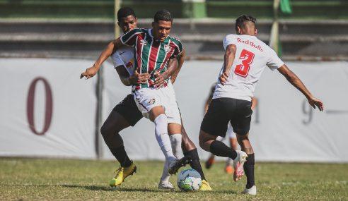 Fluminense empata com o Red Bull Bragantino e vai às semifinais do Brasileirão de Aspirantes
