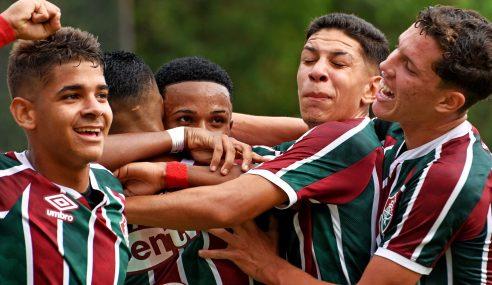 Em decisão emocionante, Fluminense elimina São Paulo nos pênaltis e vai à final do Brasileirão Sub-17