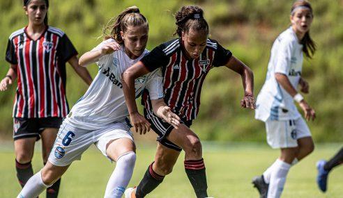 São Paulo derrota Grêmio e se classifica no Brasileirão Feminino Sub-16