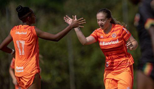 Internacional vence Lusaca-BA e mantém 100% no Brasileirão Feminino Sub-16