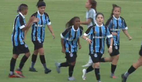 Iranduba e Grêmio empatam pela primeira rodada do Brasileirão Feminino Sub-16