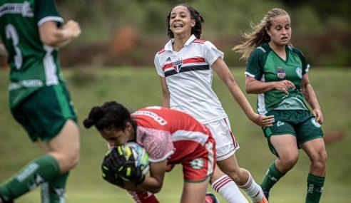 Brasileirão Feminino Sub-16: Iranduba segura pressão do São Paulo e mantém Grupo C aberto