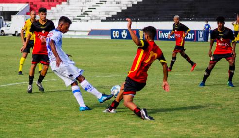 Jaciobá vence Globo na despedida das equipes da Copa do Nordeste Sub-20