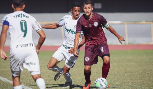 Daniel sai do banco e dá vitória ao Palmeiras sobre o Jacuipense pela Copa do Brasil Sub-17