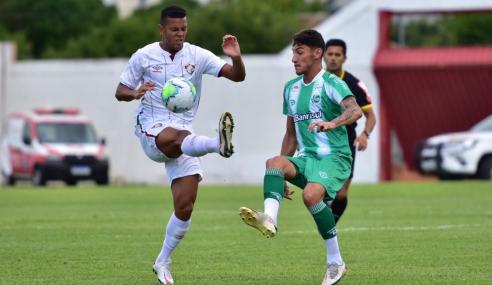 Juventude e Fluminense não saem do zero e ficam a um empate das semifinais do Brasileirão de Aspirantes