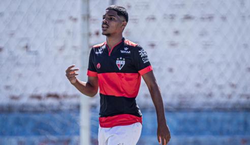 Artilheiro do Torneio FGF Sub-17 comemora primeiro ano no Atlético-GO e quer se consolidar no clube