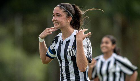 Santos vence Lusaca-BA e segue vivo no Brasileirão Feminino Sub-16