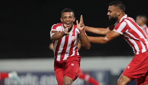 Náutico vira, goleia CRB e fica com a liderança do Grupo E da Copa do Nordeste Sub-20
