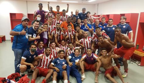 Náutico vence CRB e pegará o Fortaleza na final da Copa do Nordeste Sub-20