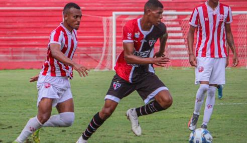 Náutico vence Ferroviário e garante vaga na fase de grupos da Copa do Nordeste Sub-20