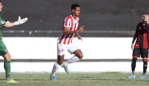 Náutico bate Vitória e se garante nas quartas da Copa do Nordeste Sub-20