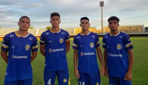 Vitória contrata quatro atletas do Palmas para o sub-20