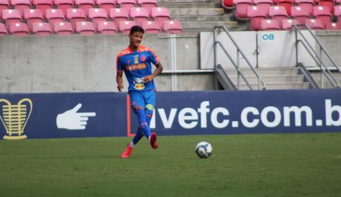 Nos pênaltis, Fortaleza elimina Perilima e vai à final da Copa do Nordeste Sub-20