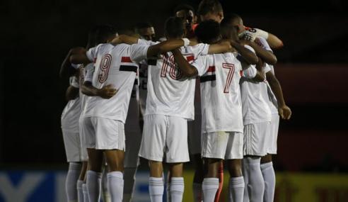 São Paulo vence Atlético-MG e garante classificação às quartas de final do Brasileirão Sub-20