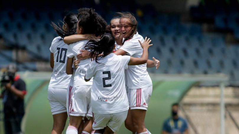 São Paulo bate Santos de virada e fica com o terceiro lugar do Brasileirão Feminino Sub-16
