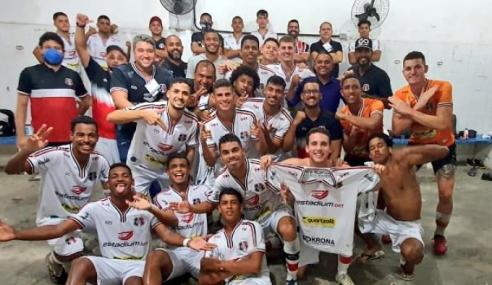 Com um a menos, Santa Cruz atropela Jaciobá-AL e vai às quartas da Copa do Nordeste Sub-20