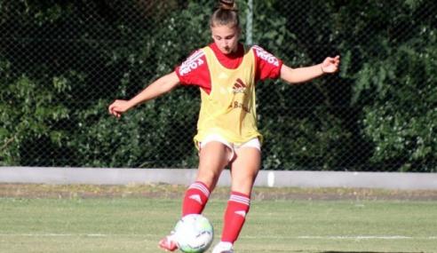 Internacional faz três gols nos minutos finais e vira sobre o Santos no Brasileirão Feminino Sub-16