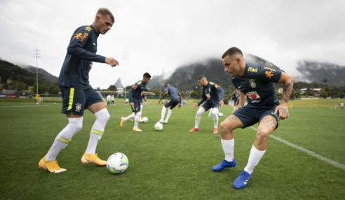 Seleção Brasileira Sub-20 inicia quadrangular amistoso com desfalques e caras novas