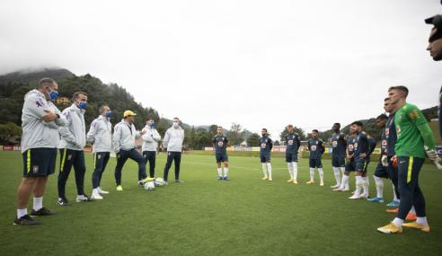 Seleção Brasileira Sub-20 inicia período de treinos na Granja Comary
