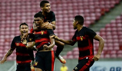 Sport marca no fim e vence CSA de virada pela Copa do Nordeste Sub-20