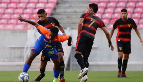 Nos pênaltis, Fortaleza derrota Sport e se classifica na Copa do Nordeste Sub-20