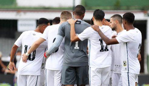 Santos vence, deixa lanterna e tira Palmeiras do G-8 do Brasileirão Sub-20