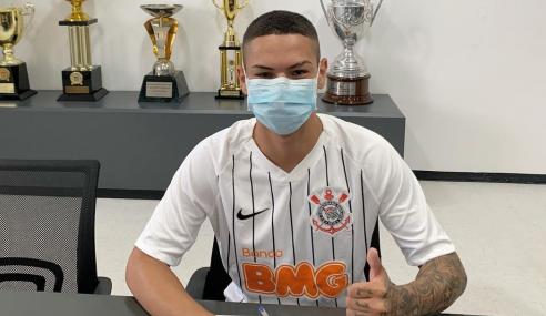 Corinthians amplia contrato de atacante do sub-20