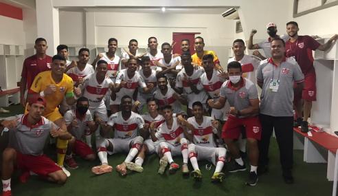 CRB vira nos acréscimos e bate Vitória pela Copa do Nordeste Sub-20