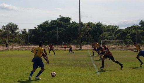 Palmas é o único com 100% de aproveitamento no Tocantinense Sub-15