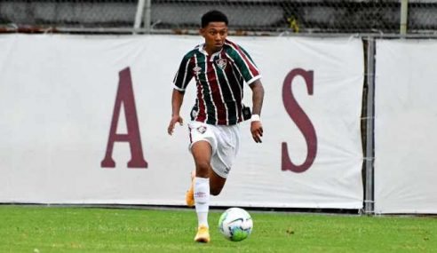 Grêmio contrata joia da base do Fluminense