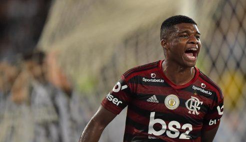 Clube inglês demonstra interesse em jovem atacante do Flamengo