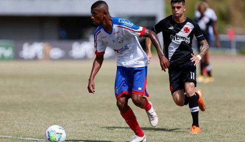 Gabriel Pec se diz feliz por atuação no jogo de ida da final da Copa do Brasil Sub-20