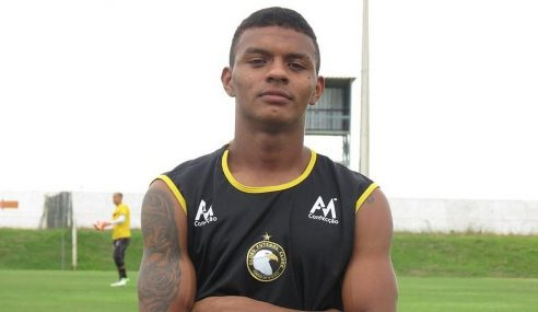Globo anuncia retorno do atacante Negueba