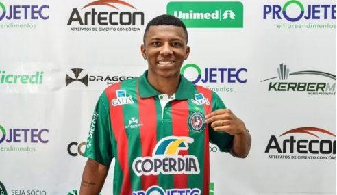 Chapecoense empresta mais um jogador ao Concórdia