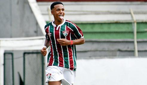 Atacante do Fluminense é eleito o melhor sub-17 do mundo