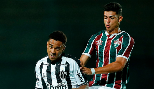 Copa do Brasil Sub-17: Atlético-MG leva virada, mas empata com o Fluminense nos acréscimos