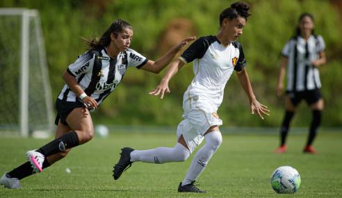 Atlético-MG cede empate ao Sport pelo Brasileirão Feminino Sub-18