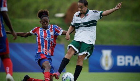 Ingrid faz três e garante vitória do Toledo/Coritiba sobre o Bahia no Brasileirão Feminino Sub-18
