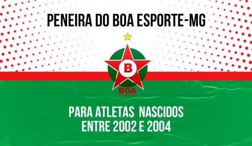 Boa Esporte-MG abre pré-inscrições para peneira
