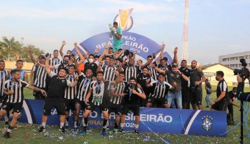 Goleiro brilha, Ceará bate Vila Nova nos pênaltis e conquista Brasileirão de Aspirantes