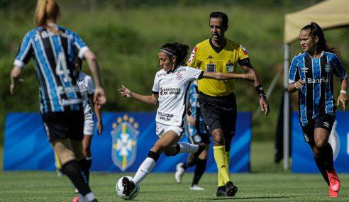 Corinthians se recupera de goleada e vence Grêmio pelo Brasileirão Feminino Sub-18