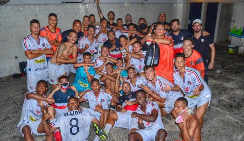 Santa Cruz vence Íbis e se classifica no Pernambucano Sub-17