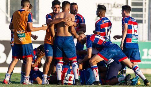 Fortaleza elimina Ceará nos pênaltis e vai à final do Estadual Sub-17