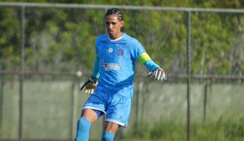 Titular do time sub-20, goleiro se despede do Bahia
