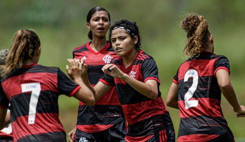 Flamengo derrota Fortaleza em sua estreia no Brasileirão Feminino Sub-18
