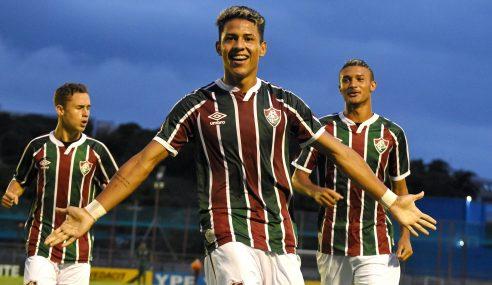 Matheus Martins faz três, Fluminense goleia Atlético-MG e vai às semifinais da Copa do Brasil Sub-17